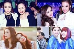 Đọ gu thời trang của các cặp chị em trong showbiz Việt