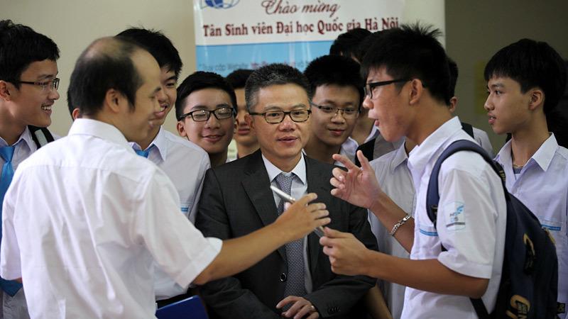 Hoàng Tụy, Ngô Bảo Châu, Đàm Thanh Sơn, Trần VĂn Nhung, Đào Trọng Thi, Khối A0, ĐHQG Hà Nội