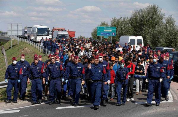 di dân, biên giới, kiểm soát, EU