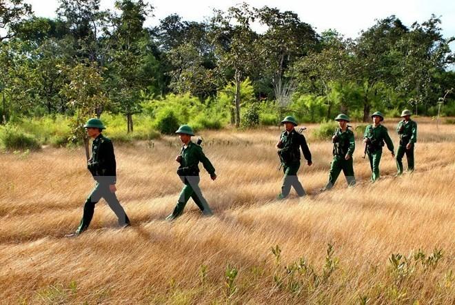 Bảo vệ an ninh quốc phòng biên giới Tây Nam