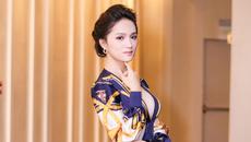 Hương Giang Idol diện váy xẻ ngực sâu hun hút