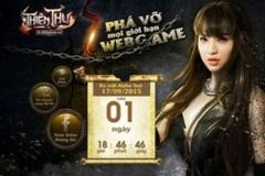 Hải Băng xinh đẹp trong hình ảnh nữ chiến binh game Thiên Thư