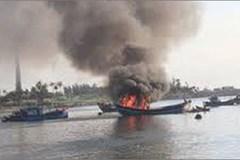Nổ bình ga khiến tàu chìm, 19 thuyền viên mất tích
