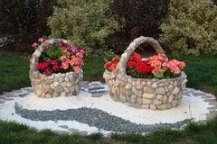Trang trí vườn nhỏ xinh bằng đá đẹp mắt