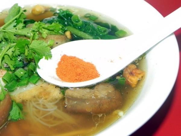 món mì, Sài Gòn, ăn vặt, mì sủi cảo
