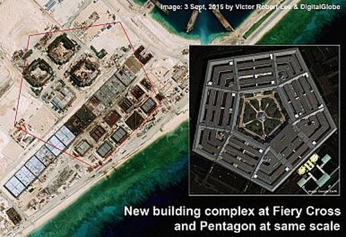 TQ xây công trình như Lầu Năm Góc ở Trường Sa