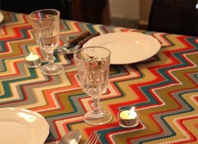 mẫu khăn trải bàn đẹp, nội thất, trang trí nhà, trang trí bàn ăn