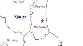 Nghệ An bất ngờ động đất