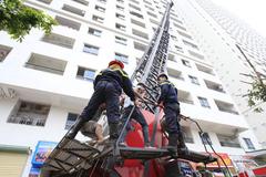 Cháy chung cư: Trách nhiệm trước tiên của chủ đầu tư