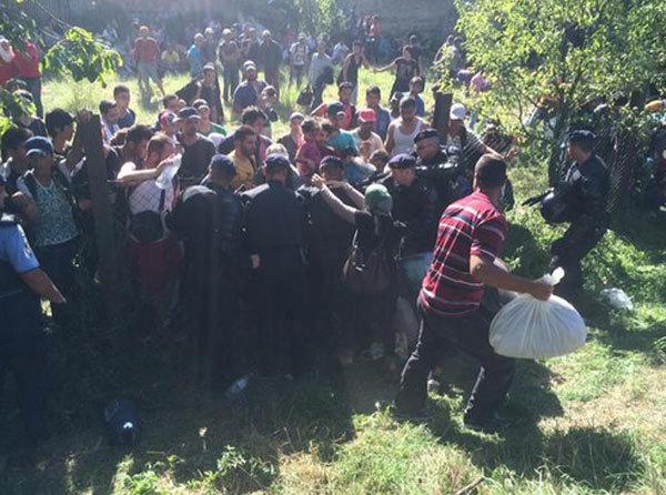 Croatia, biên giới, cửa khẩu, di dân