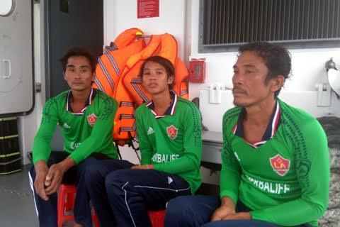 Vớt thi thể 6 thuyền viên vụ chìm tàu do nổ bình ga