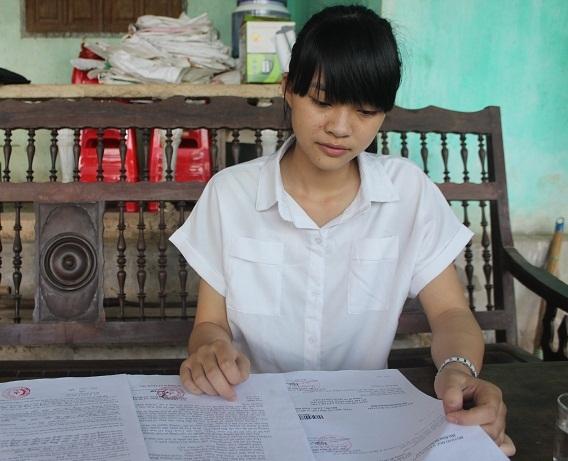 Kiều Nhi được nhận vào trường công an