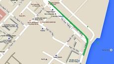 Rào đường trung tâm Sài Gòn để thi công nhà ga metro