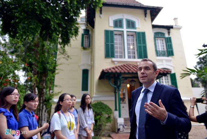 Ngôi biệt thự dành cho nguyên thủ Pháp tại Hà Nội