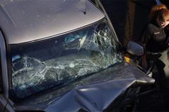 Tài xế 'xe điên' bị bắn từ trực thăng cảnh sát