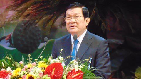 Chủ tịch nước: Không có vùng cấm chống tham nhũng