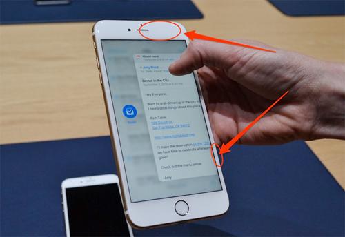 Apple, viền màn hình, iPhone, cảm ứng