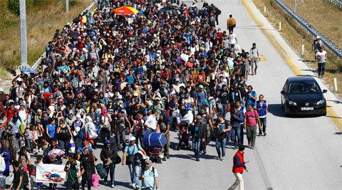 EU phê chuẩn kế hoạch phân bổ người tị nạn