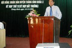 Con nguyên Bí thư Quảng Nam làm Giám đốc Sở KH&ĐT