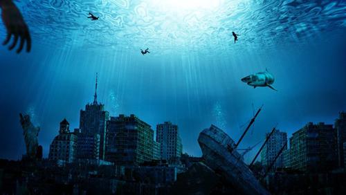 nước biển, nhiên liệu hoá thạch, băng tan, bão tố, hạn hán, thời tiết cực đoan