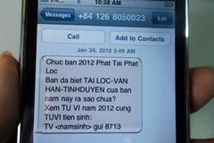 Phạt 3 DN cung cấp, phát tán tin nhắn rác 165 triệu đồng