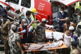 Giẫm đạp gần Mecca, hơn 700 người chết