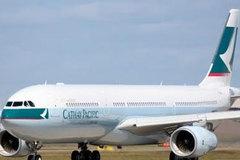 Lỗi động cơ, máy bay Cathay hạ cánh khẩn