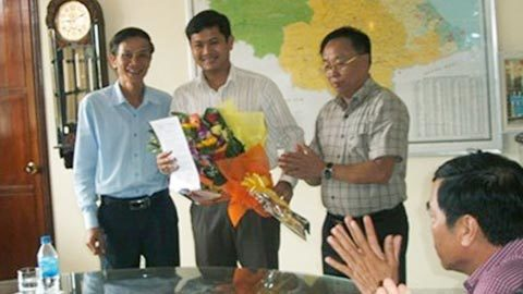 Quảng Nam, giám đốc sở, 30 tuổi