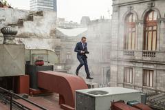 Hé lộ hậu trường quay mạo hiểm trong phim 007 mới