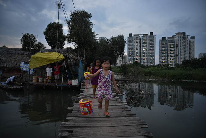 Trung thu, em nhỏ, Sài Gòn,