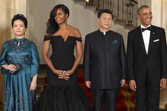 Đệ nhất phu nhân Mỹ đẹp lộng lẫy khi đón lãnh đạo TQ