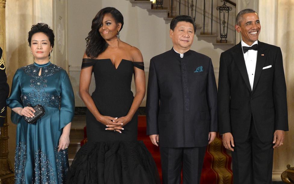 Phu nhân, Mỹ, lộng lẫy, lãnh đạo, TQ