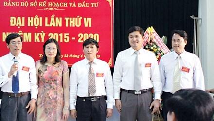 giám đốc sở, Sở Kế hoạch - Đầu tư, Quảng Nam, Lê Phước Hoài Bảo