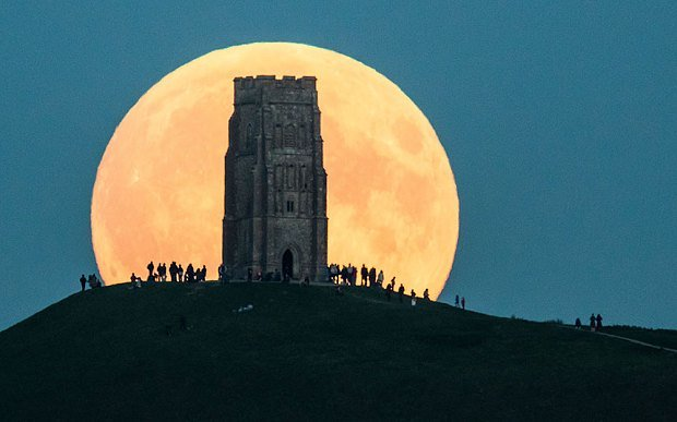 mặt trăng, siêu trăng, hình ảnh, khắp thế giới