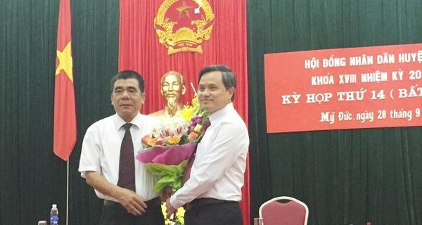 Hà Nội, huyện Mỹ Đức, nhân sự, Nguyễn Văn Hoạt