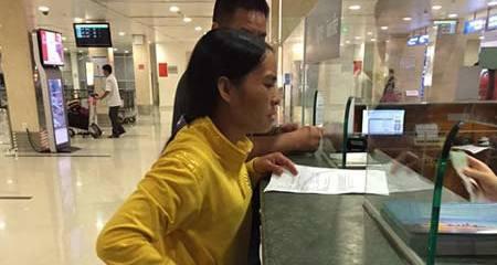 Chuyện 1,5 triệu cảm động ở Sân bay Tân Sơn Nhất