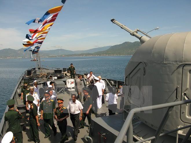 Nga bàn giao VN cặp tàu hộ vệ tên lửa thứ hai