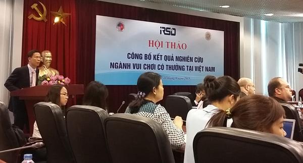 'Đốt' 1.379 tỷ đồng giải khuây trong sòng bài Việt Nam