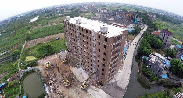 Trung Quốc, cao ốc, xây dựng, trái phép