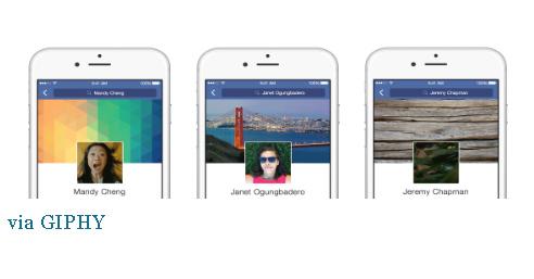 Facebook, video, GIF, ảnh đại diện