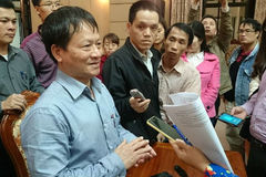 Phó Ban Tuyên giáo Thành ủy HN Phan Đăng Long nghỉ hưu