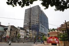 Bộ Quốc phòng bác cấp phép chiều cao tòa 8B Lê Trực