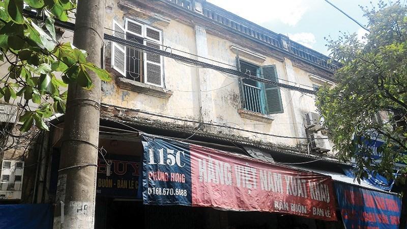 Hà Nội, những chung cư báo động đỏ