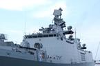 Chiến hạm tàng hình khủng của Ấn Độ đến Đà Nẵng