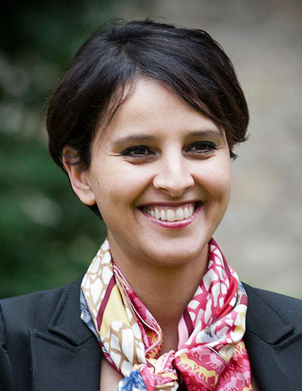 Pháp, Bộ trưởng, Najat Vallaud-Belkacem, cười