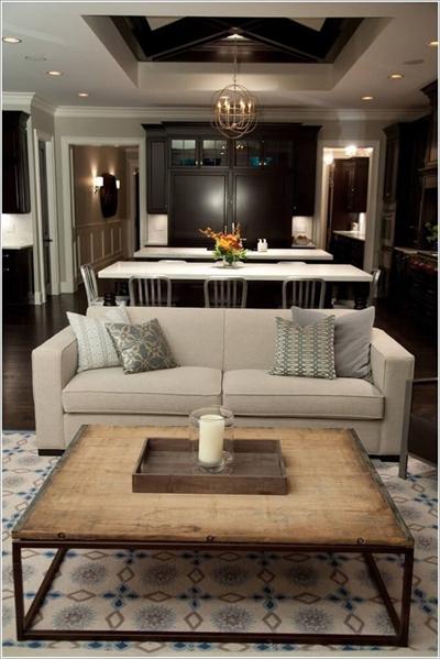 trang trí nhà, nhà đẹp, ý tưởng trang trí bàn nước, trang trí phòng khách, nhà đẹp