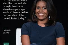 Lời khuyên khôn ngoan của bà chủ Nhà Trắng với nữ sinh