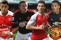Arsenal 2-0 M.U: Quỷ đỏ chết lặng (H1)