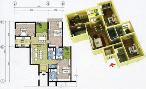 phong thủy chung cư, những kiêng kỵ khi mua căn hộ chung cư, căn góc, ban công hướng Tây