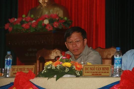 Lê Phước Hoài Bảo, Lê Phước Thanh, giám đốc sở 30 tuổi, Quảng Nam, Bí thư tỉnh